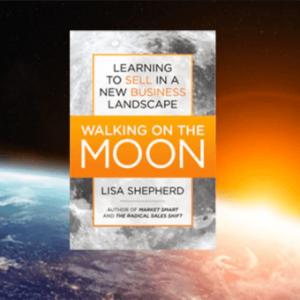 b2b book walking on the moon